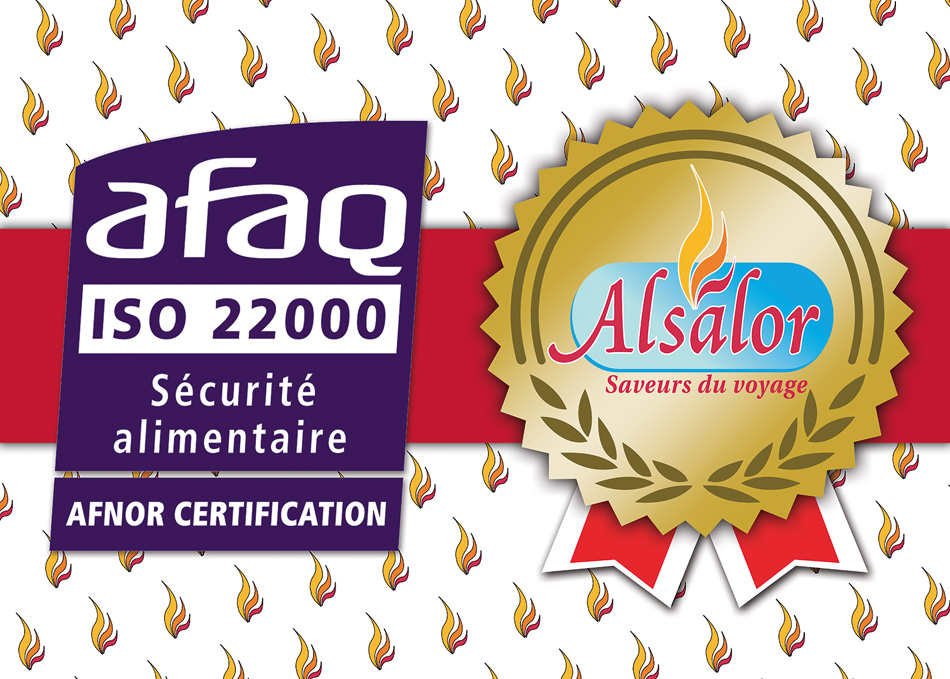 alsalor certifie AFAQ 22000