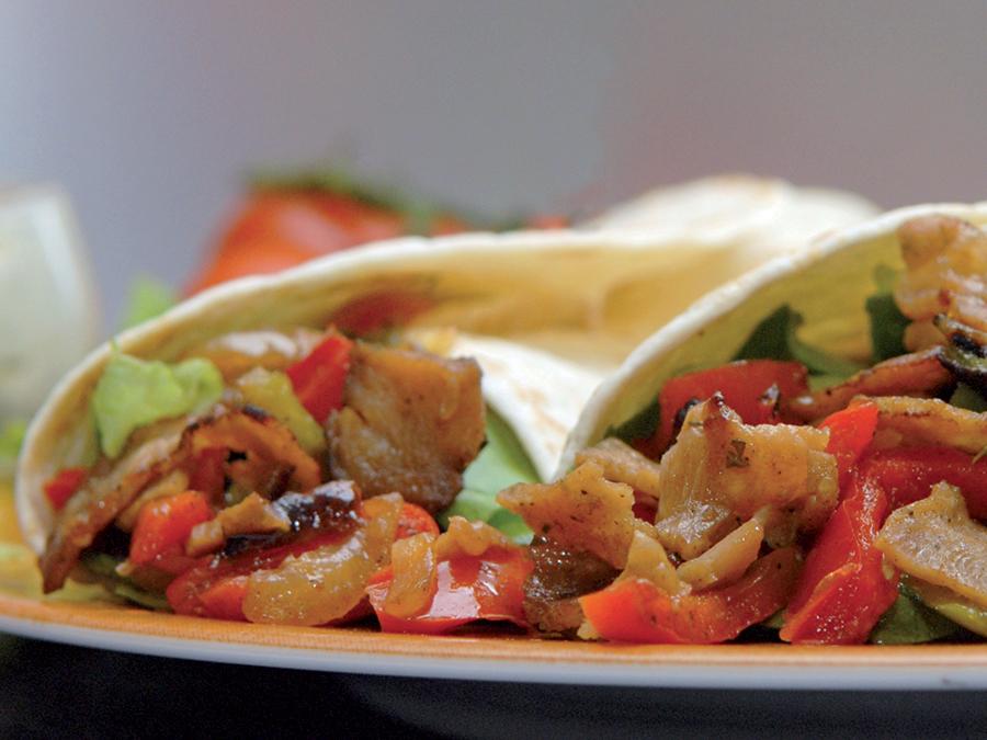 Kebab Emince Aux Legumes Fajitas