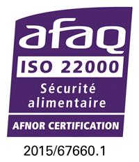 Alsalor certification iso 9001 et 22000